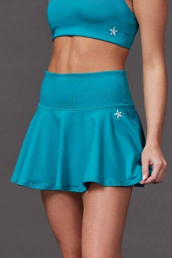 Legendary Flouncy Skirt in Teal