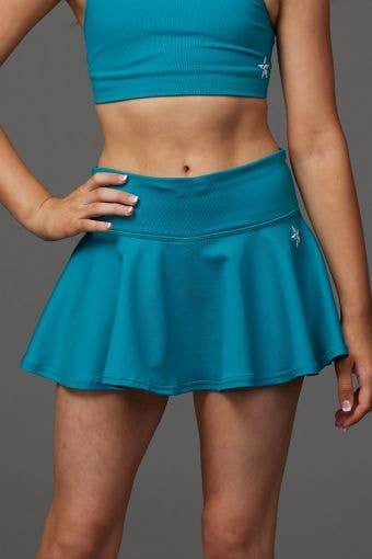 Legendary Flouncy Skirt in Teal - Girls
