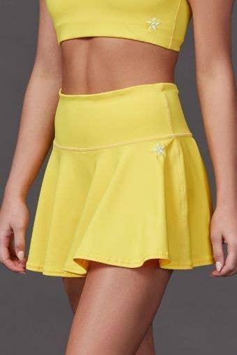 Legendary Flouncy Skirt in Yellow
