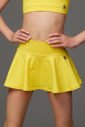 Legendary Flouncy Skirt in Yellow - Girls