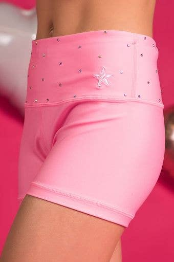 Legendary Compression Short in Orchid Pink Crystal