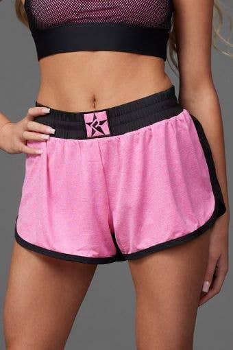 Sport Short in Pink HeatherFlex