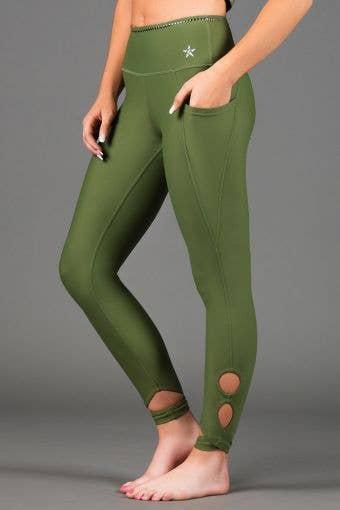 Legendary Martina Legging in Army Green