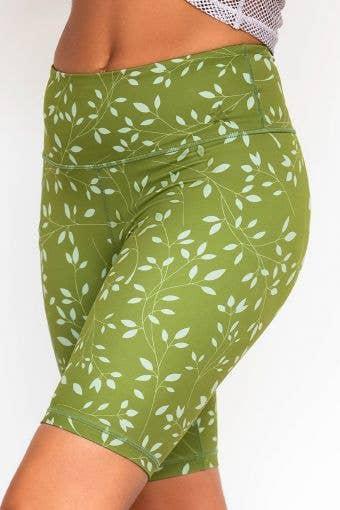 Legendary Bike Short Kelp Green Floral