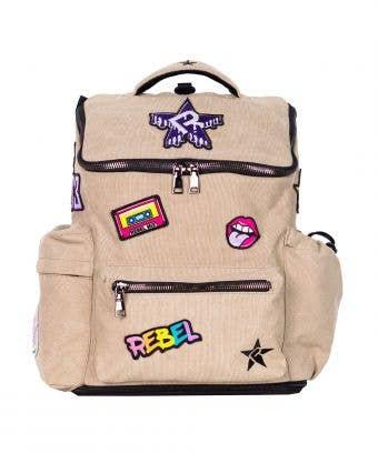 Rebel Hero Backpack in Camel
