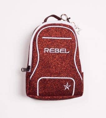 red coin purse called Scarlett Mini Dream Bag Coin Purse - Rebel Athletic