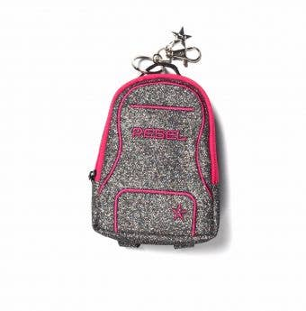 silver coins bag called Moonstruck Mini Dream Bag Coin Purse - Rebel Athletic