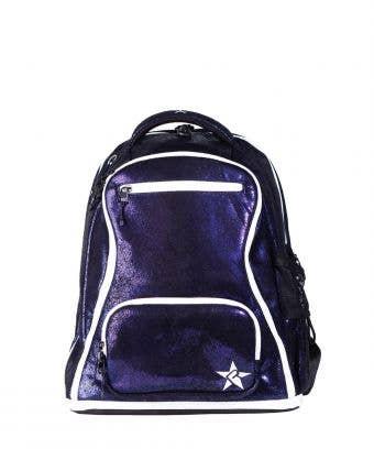 dark purple mini backpack