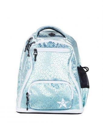 Pixie Dust Leopard Rebel Baby Dream Bag with White Zipper