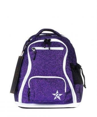 purple mini backpack