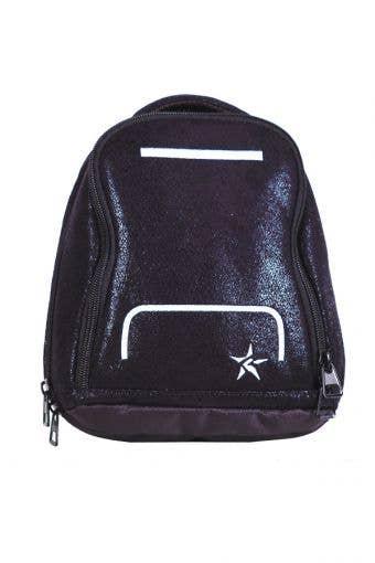 mini makeup bag black