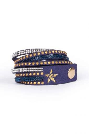 Rebel Bracelet in Navy - FINAL SALE