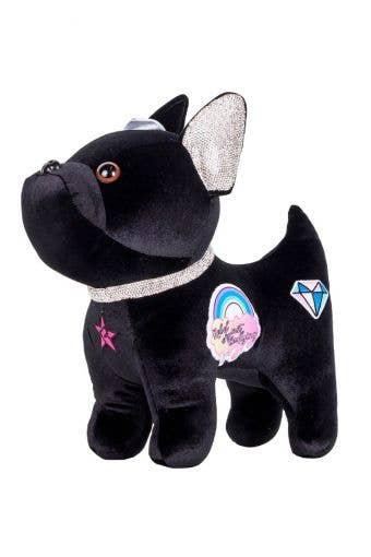 Patch Bulldog in Black