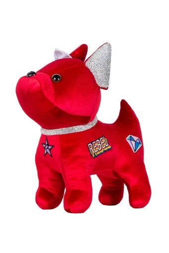 Patch Bulldog in Red