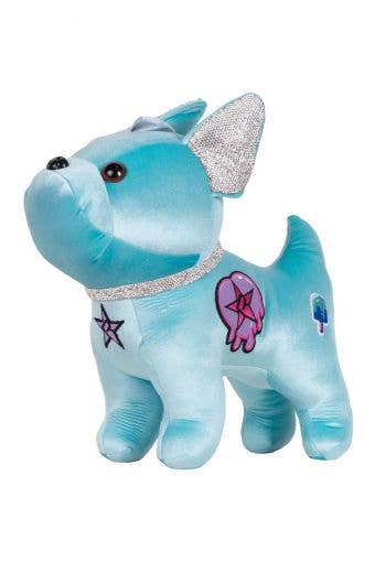 Patch Bulldog in Turquoise