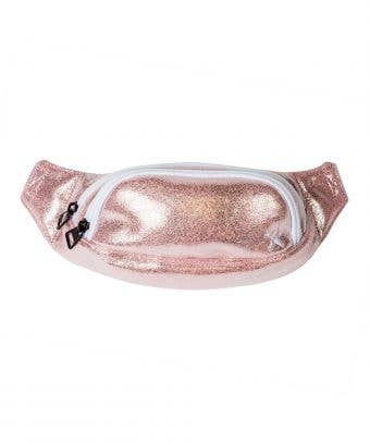Adult Rebel Fanny Pack in Pink Champagne - Gorgeous Pink Fanny Pack