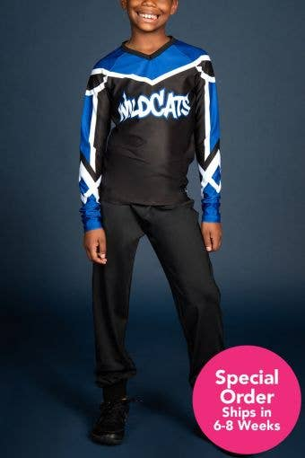 Cheer Athletics Wildcats Boys Replica Uniform - Special Order