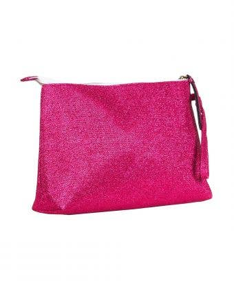 Beauty Bag in Fuchsia