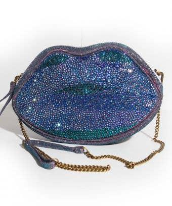 blue green crossbody bag