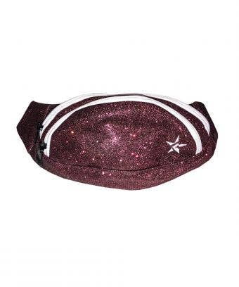 Adult Rebel Fanny Pack in Maroon - Stylish Maroon Fanny Pack