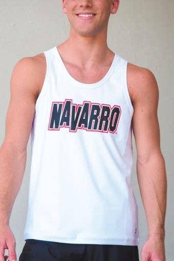 Navarro Guys Tank in White