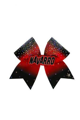 Navarro Bow in Black and Red
