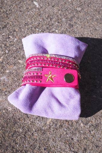 Rebel Bracelet in Pink - FINAL SALE