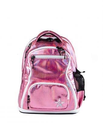 pink mini backpack