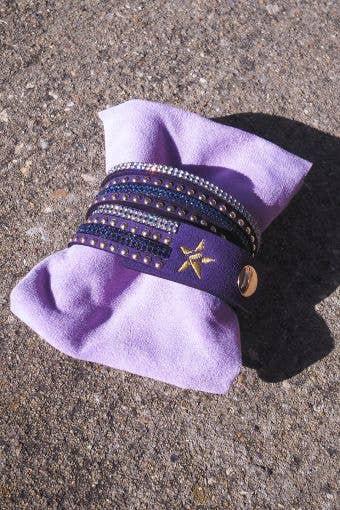 Rebel Bracelet in Purple - FINAL SALE
