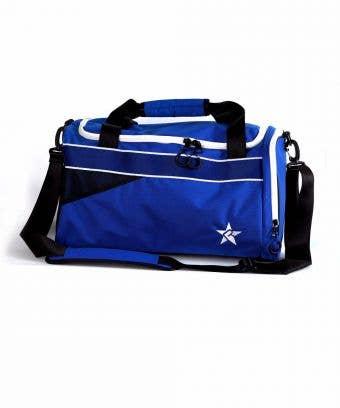 royal blue duffle bag