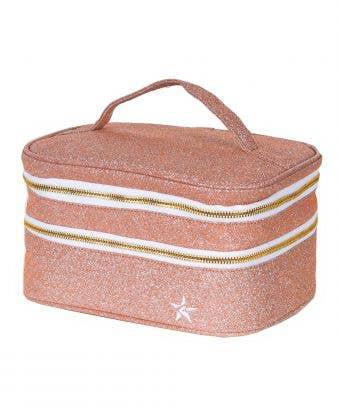 rose gold makeup case