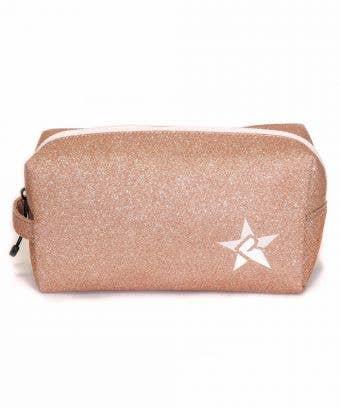 Rebel Rose Gold Makeup Bag