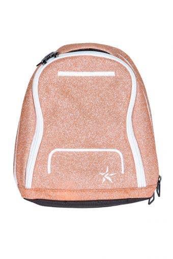mini makeup bag rose gold
