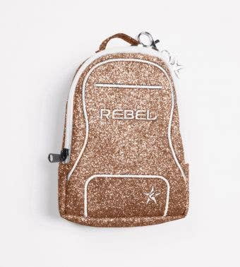 gold coin bag called Mini Dream Bag Coin Purse by Rebel Athletic
