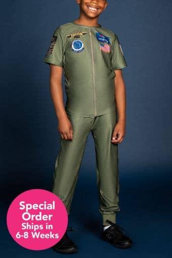 Top Gun Large Coed Boys Replica Uniform - Special Order