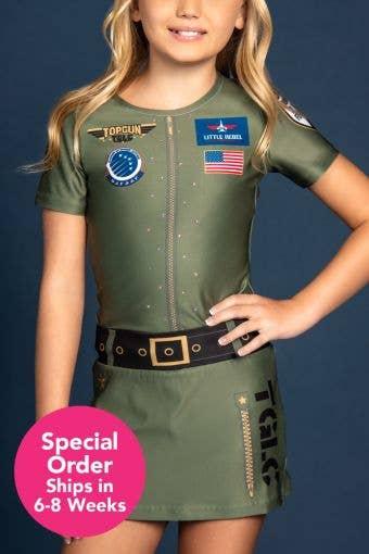 Top Gun Large Coed Replica Uniform - Girls - Special Order