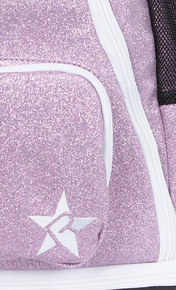 magenta cheer bag fabric details