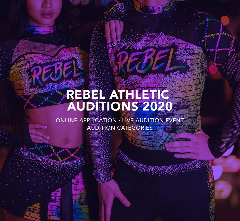 Rebel Athletic Talent Auditions